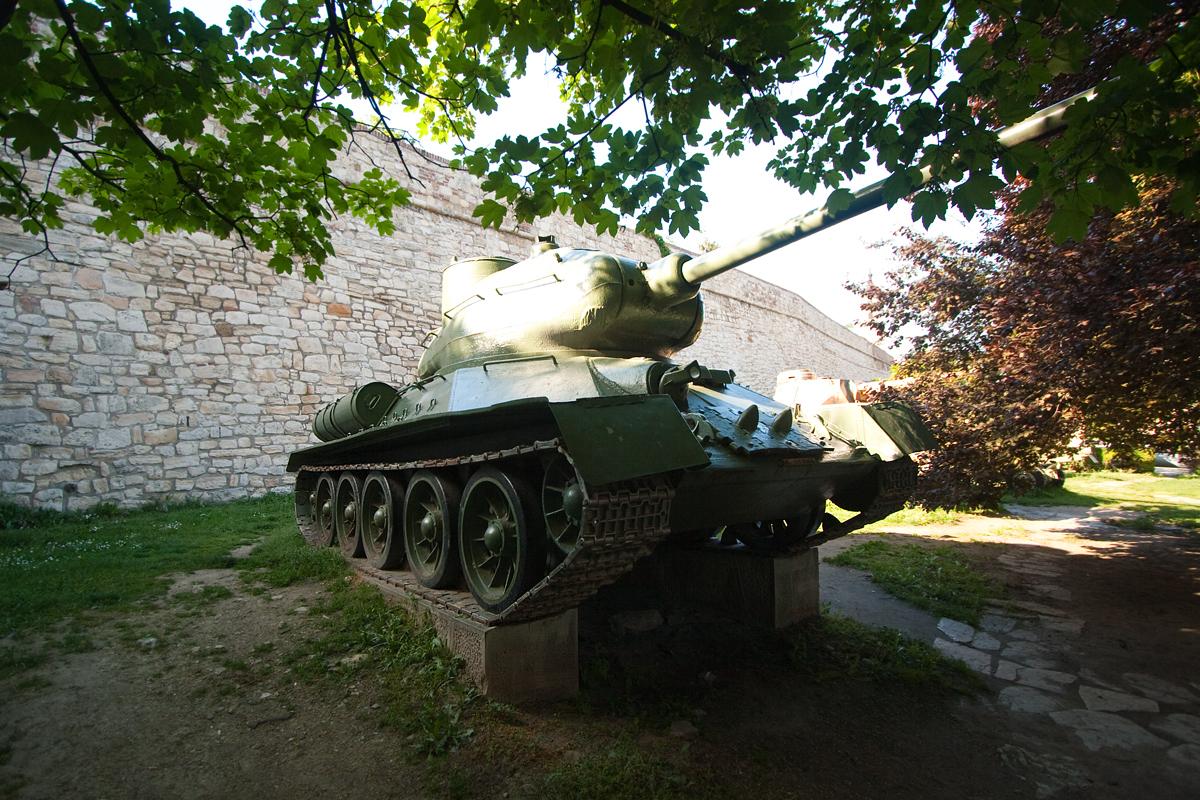 Югославский средний танк А-1 на базе Т-34
