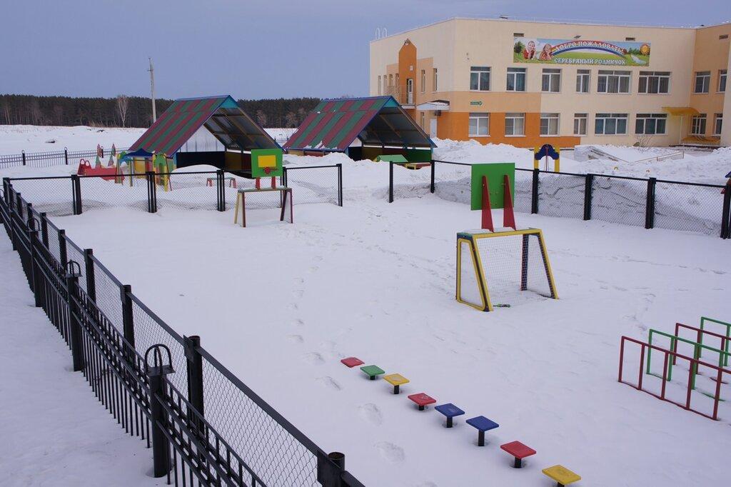 Спортивна площадка в детском саду