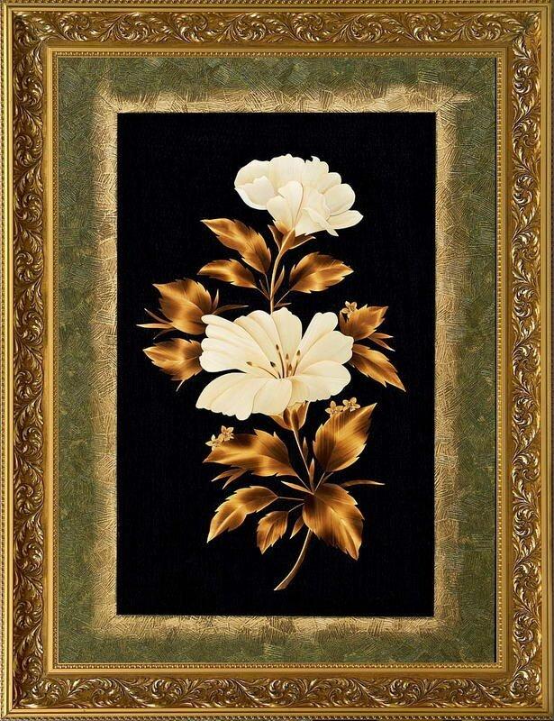 0 65fdb d3c10965 XL Картины из соломки Валерия Козлова.
