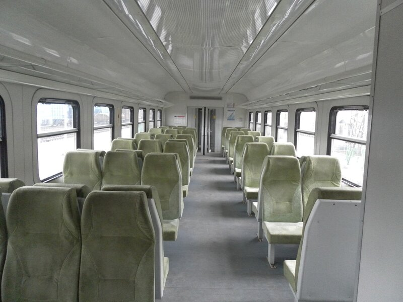 В вагоне висит новая схема