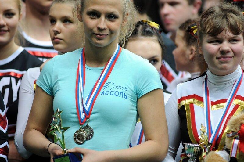 Открытый Чемпионат и Первенство Москвы по черлидингу