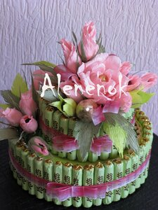 Sweet-дизайн (букеты из конфет, сладкие композиции). 0_4e78e_b5247979_M