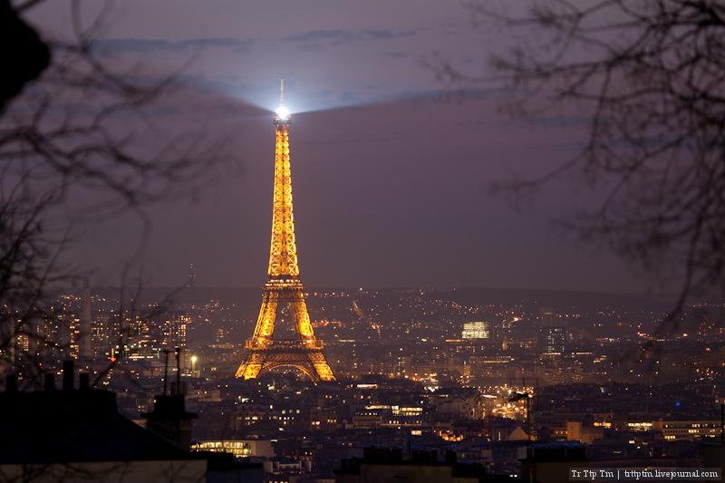 Вечера парижских будней.