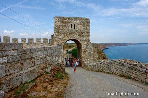 калиакра, болгария, путешествия, средневековый замок
