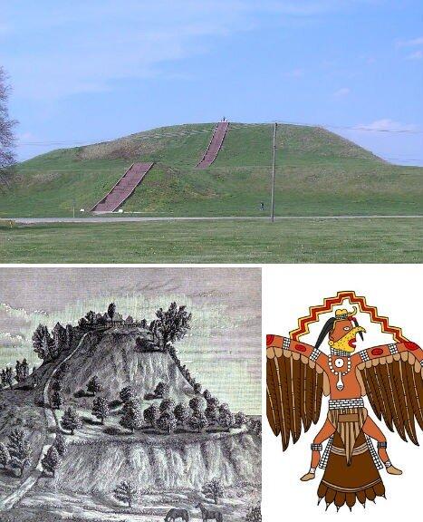 кахокия, сша, исчезнувшие цивилизации