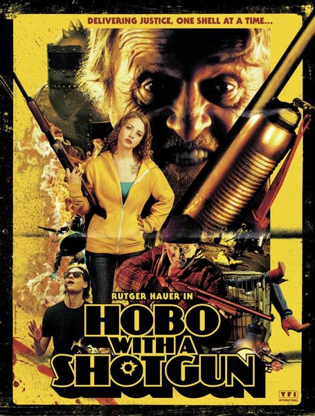 Бомж с дробовиком / Hobo with a Shotgun (2011/HDTV/HDTVRip/1400Mb/700Mb)