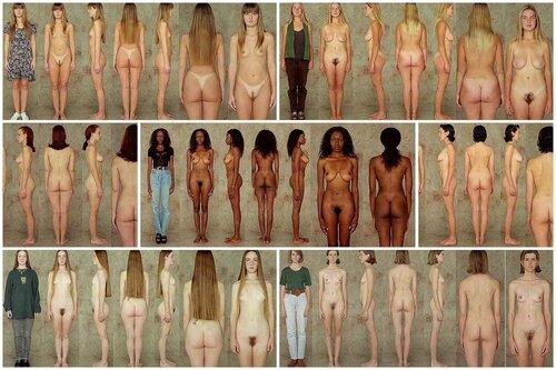 типажи женской фигуры (female figure studies)