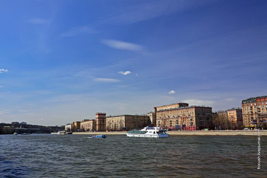 Москва-река в районе ЦПКиО