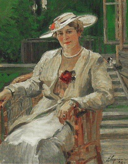 А. Герасимов. Портрет Аллы Тарасовой