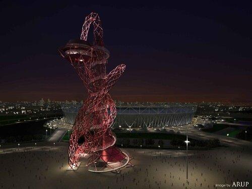 ArcelorMittal Orbit в олимпийском парке Лондона