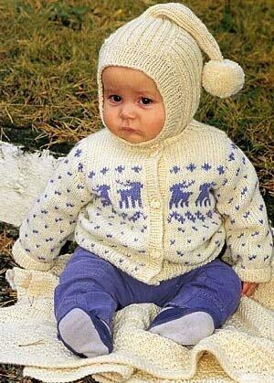 """Шапочка с  """"хвостом """".  Вязание для малышей.  Размеры:1/3-б/9 -12/18..."""