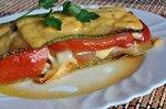Запеканка с кабачками и сыром.