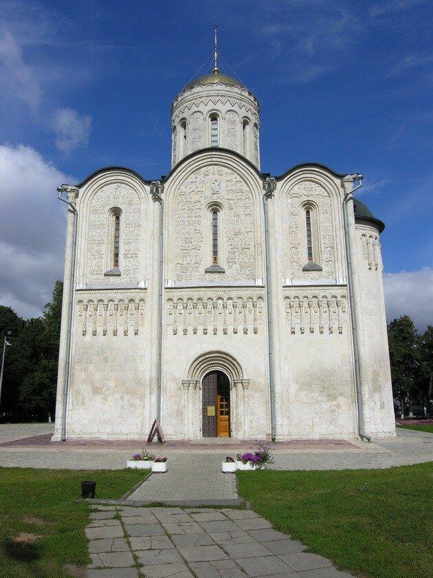 Дмитриевский собор. Владимир