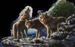 Лиса,волк  0_5091d_6b02a8df_S