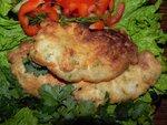Куриное филе в укропно-чесночном кляре