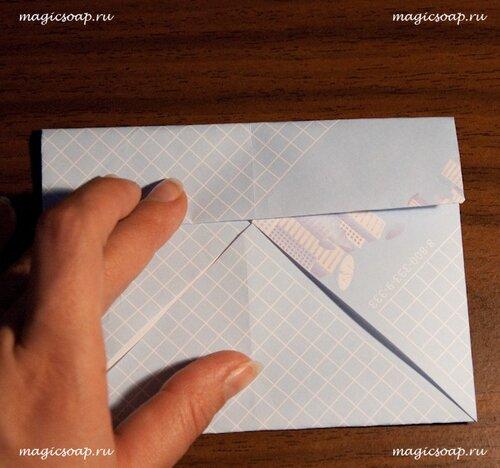 коробочка оригами, упаковка для мыла своими руками, как сделать коробочку