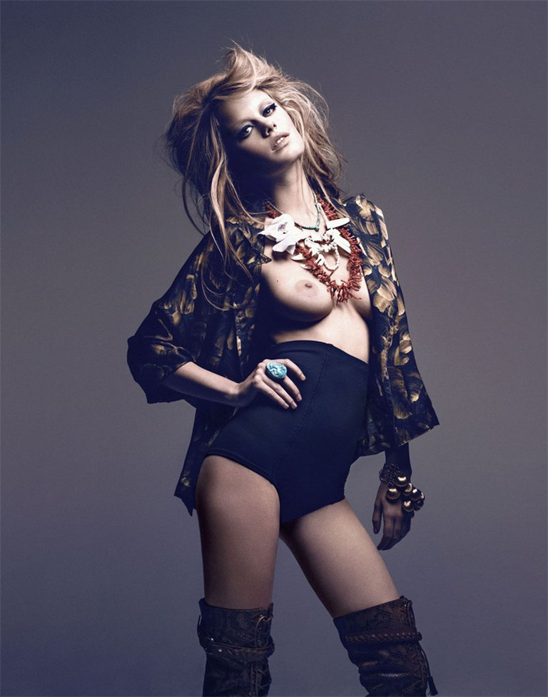 Камилль Роу / Camille Rowe by Paul Schmidt in Jalouse march 2011