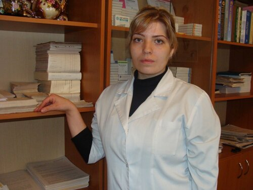 Медсестра Анна Волкоедова