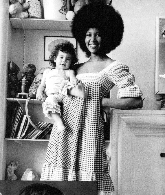 former Jagger girlfriend, Marsha Hunt.