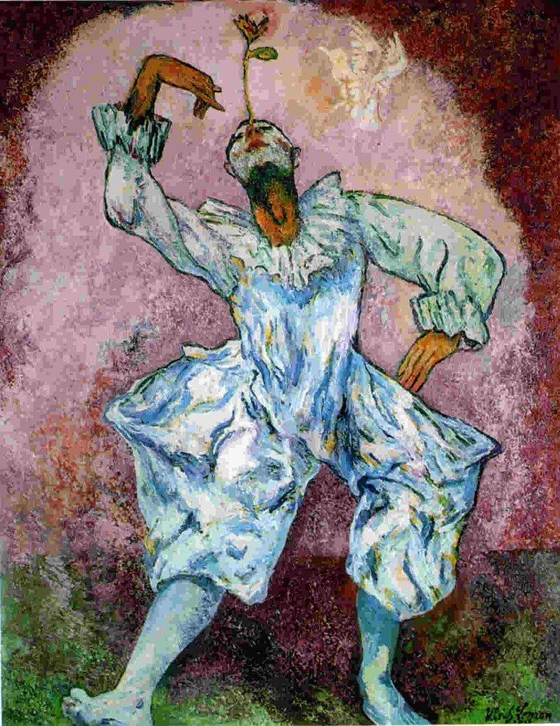 Ulrich Leman, Der Gaukler, 1913