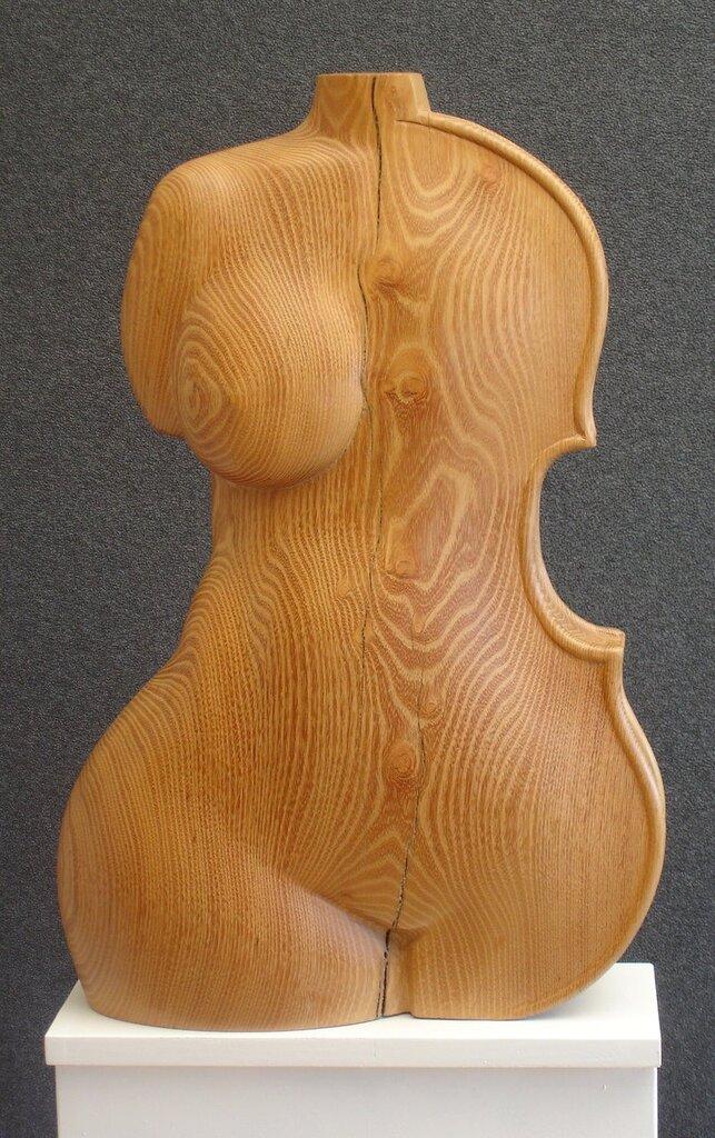 cello torso by gecko