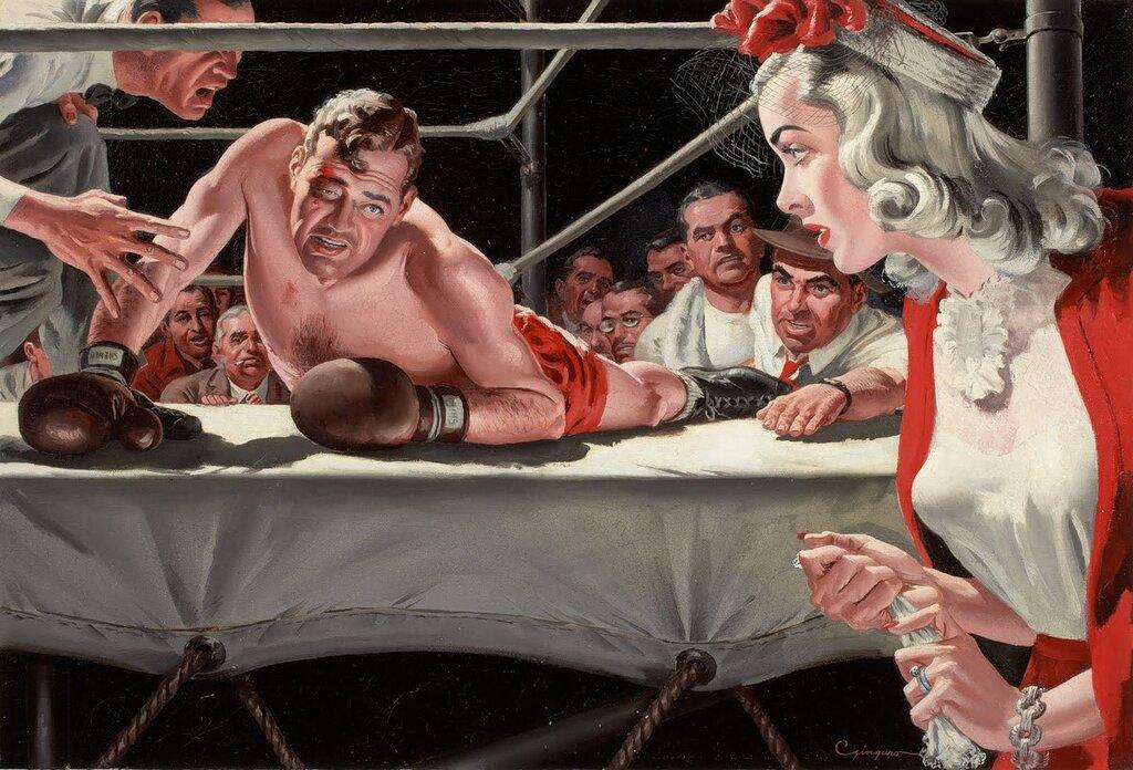 vintage illustrations.Charles Zingaro