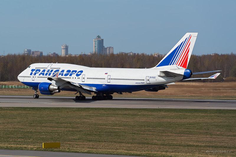 Boeing 747-446 (EI-XLC) Трансаэро D804146