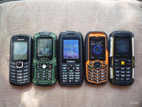 Samsung 2710, Senseit P10, RugGear Mariner RG128, Texet TM-510, Texet TM-511R