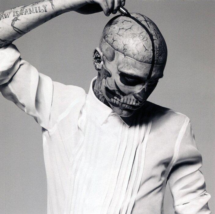 Рик Дженест (Rick Genest) он же Zombie Boy
