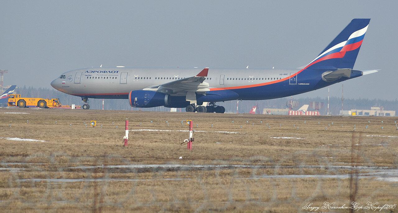 Airbus A330-243 Aeroflot VQ-BBE