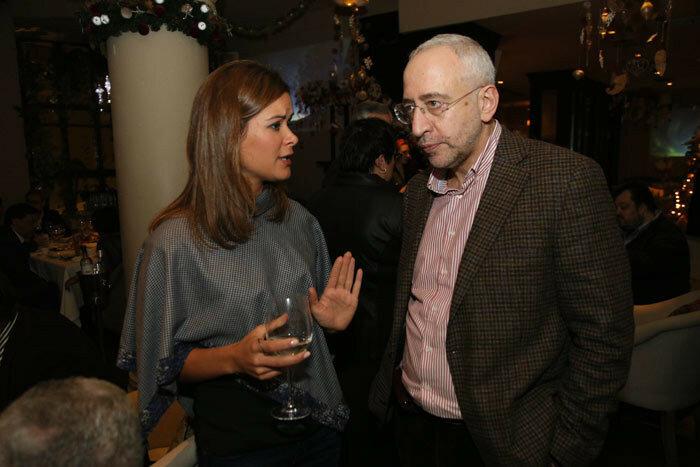 Маша Гайдар и Николай Сванидзе