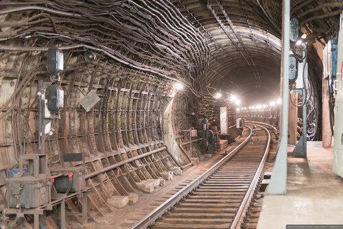 Тоннель, станция Тургеневская