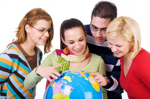 Обучение иностранному языку по обмену.