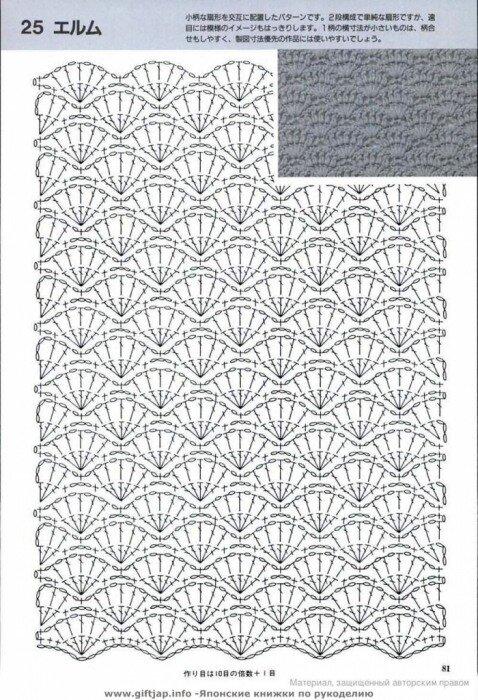 ВЯЗАНИЕ КРЮЧКОМ/Узоры,схемы. полотно.  Среда, 11 Июля 2012 г. 11:54 (ссылка) Процитировано. расширение. схемы.