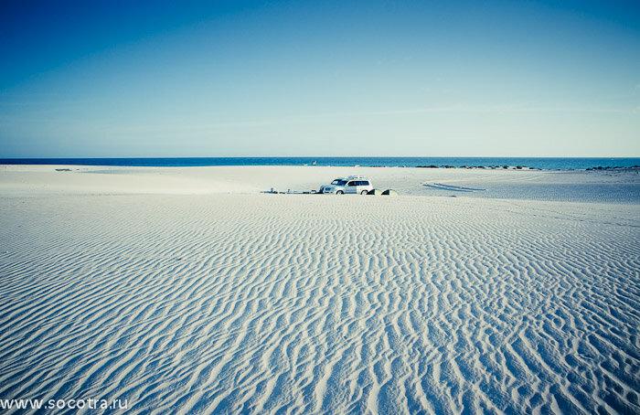 Сокотра, песчаные дюны