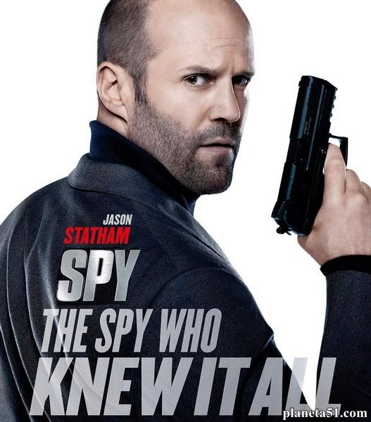Шпион / Spy (2015/WEB-DL/WEB-DLRip)