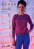 Журнал Sassoon by Marie Wallin - Rowan jpg 52Мб
