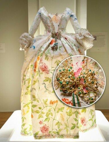 Платья из бумаги Изабель Де Borchgrave