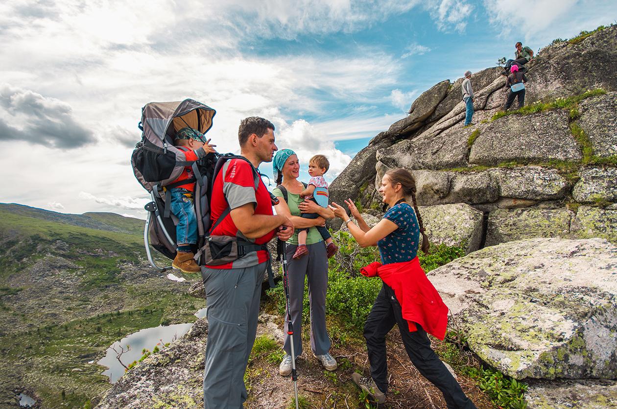 В горы с детьми