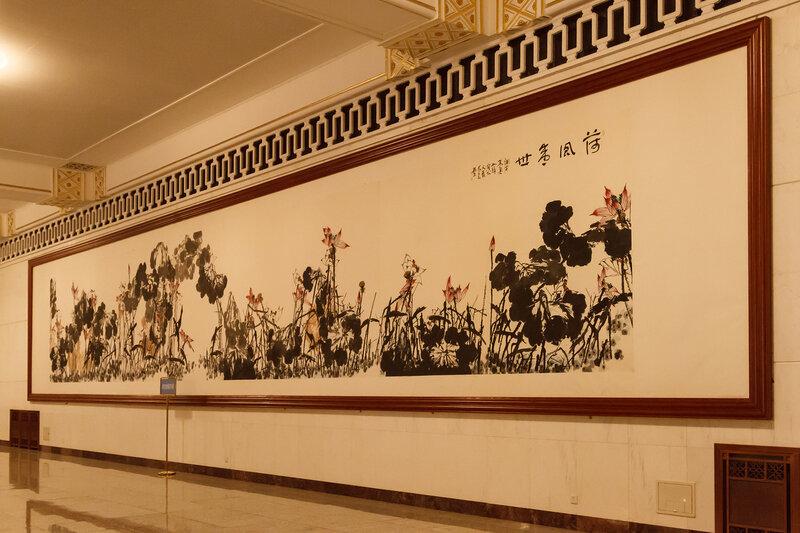 Картина на балконе Центрального холла