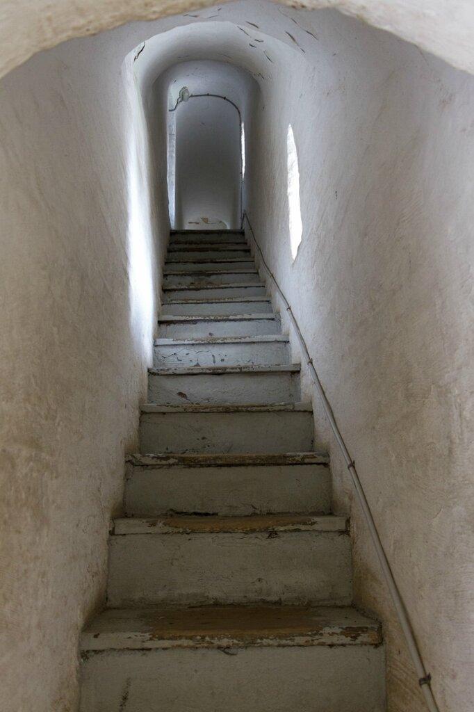 Лестница в звоннице, Спасо-Преображенский монастырь