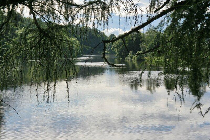 Усадьба Марфино, пруд