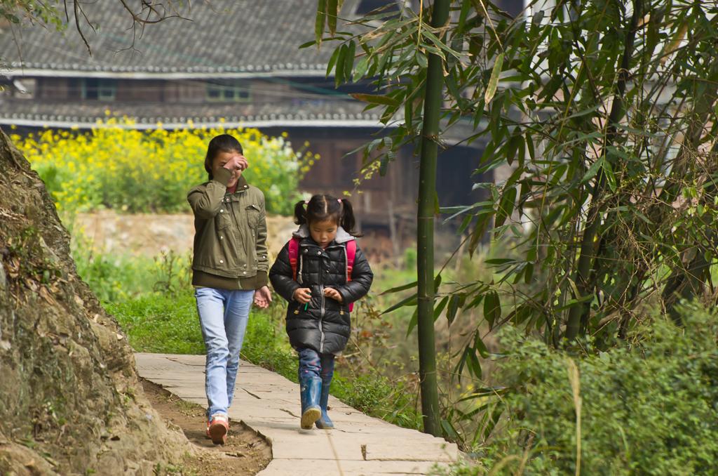 4. Со школы. Прогулка по деревне Ма'ан в регионе Ченъян. Путешествие по Китаю самостоятельно. Отзывы туристов из России.