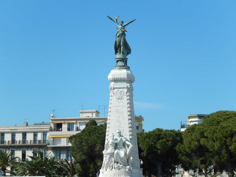 памятник воссоединения Ниццы с Францией