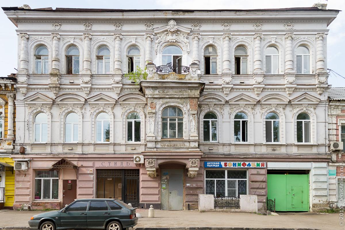 Киселёва, 19, Доходный дом Левковича