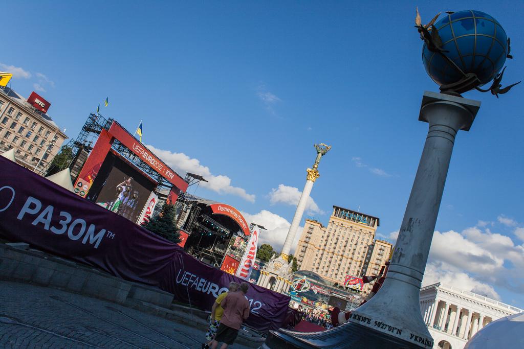 Евро-2012: футбольный Киев