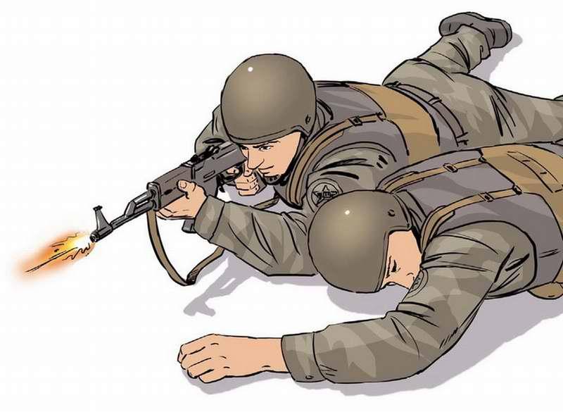 Правила поворота раненого на живот - 3