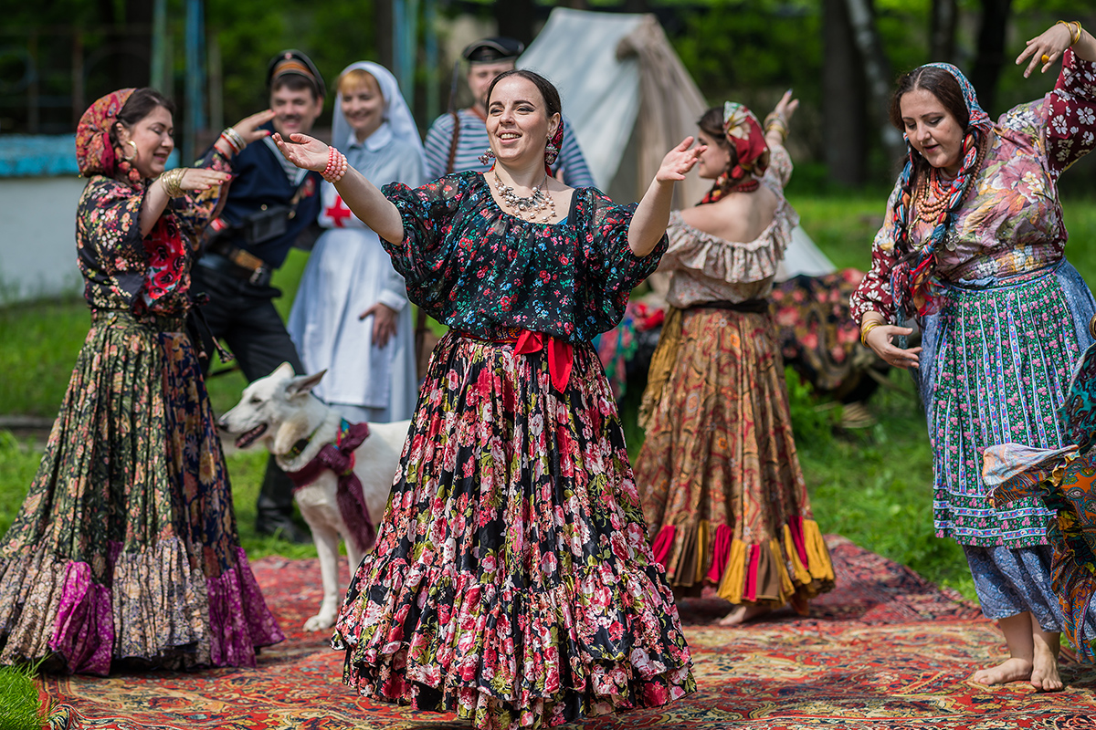 красивая картинка цыганский табор фоторепортаж сделать