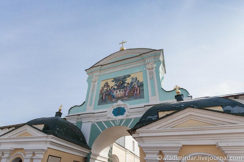 Северные Святые врата Иматьевского монастыря
