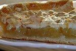 Пирог лимонный из слоёного теста